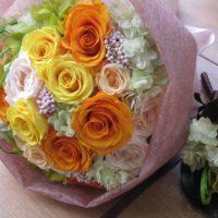 ご結婚祝いの花束