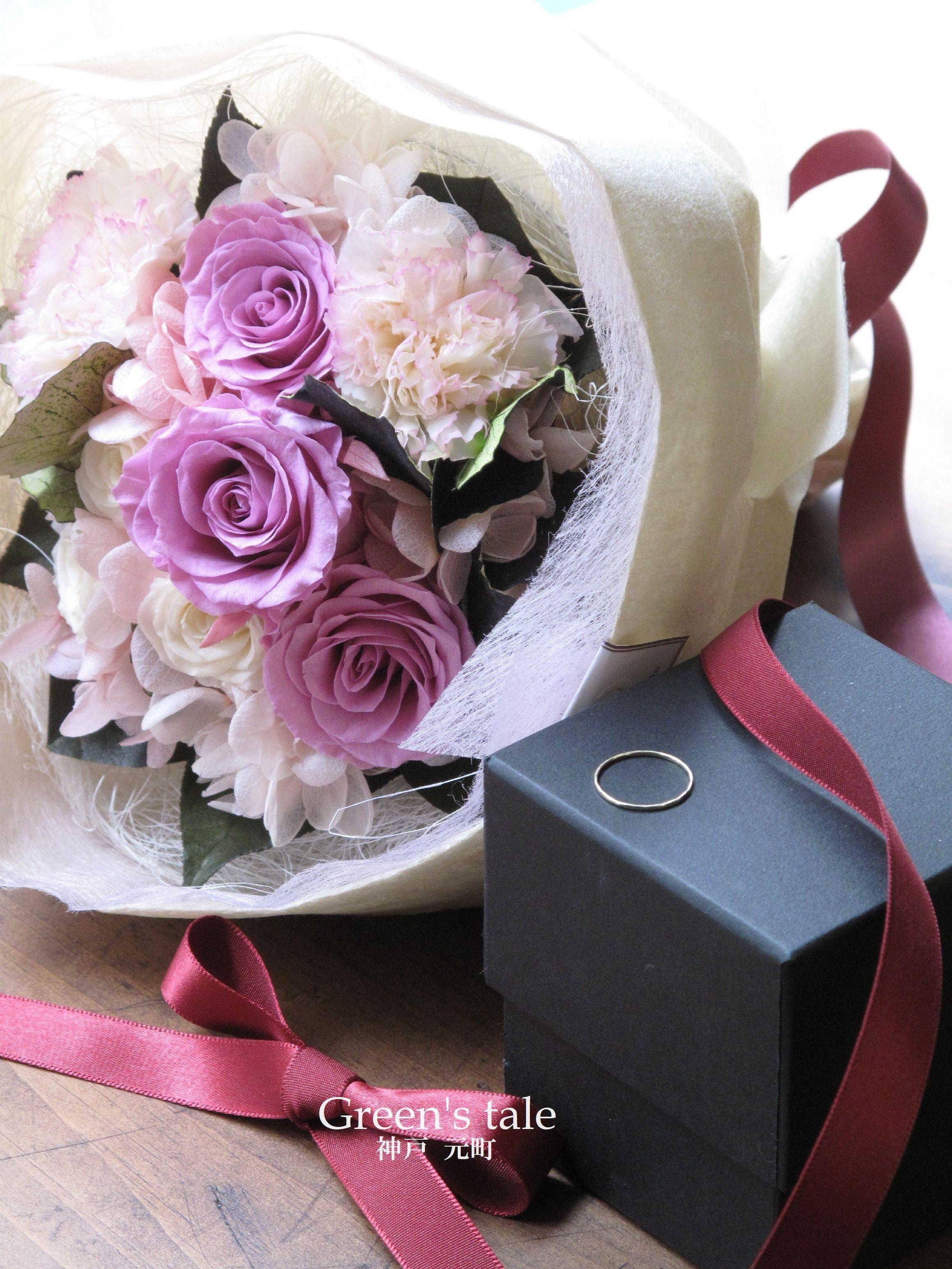 プロポーズの花束