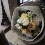 プロポーズ 花束 黄色 プリザーブドフラワー