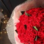 プロポーズに人気 108本のバラの花束